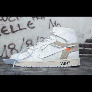 Jordans off white